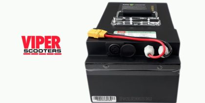 Electric Scooter Lithium Battery 48V 20Ah, Velocifero, Viper