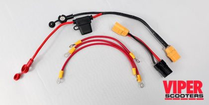 Electric Scooter Battery Cables Set, Velocifero