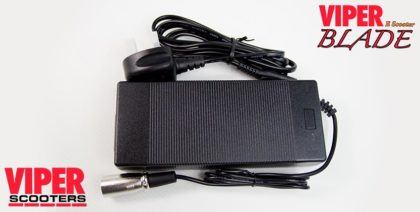 Electric Scooter Lead Acid Battery Charger 48V, Viper Blade