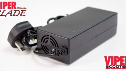 Electric Scooter Lithium Battery Charger 60V, Viper Blade