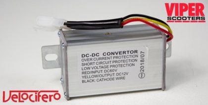 Electric Scooter Current Converter, Velocifero 1600W 48V 2000W 60V