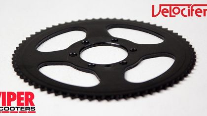 Electric Scooter Rear Sprocket, Velocifero,
