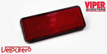 Electric Scooter Rear Reflector, Velocifero Mad 1600W, 2000W