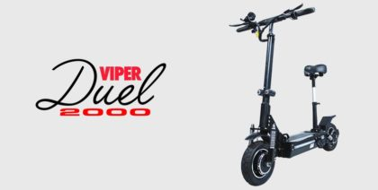 Duel Motor Electric Scooters