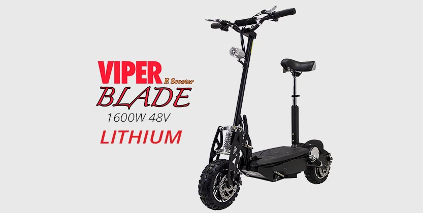 Viper Blade 1600W 48V Lithium Electric Scooter
