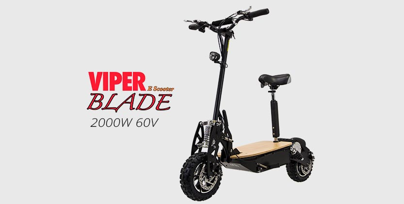 Viper Blade 2000W 60V Electric Scooter