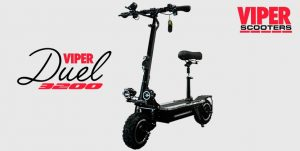 Viper Duel 3200W 60V Lithium Electric Scooter