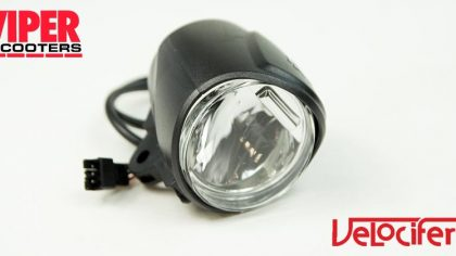 Electric Scooter Headlight, Velocifero Mini Mad 800W