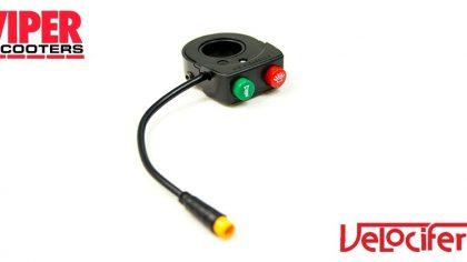 Electric Scooter Horn & Light Switch, Velocifero Mini Mad 800W