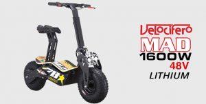 Velocifero MAD 1600W 48V Lithium