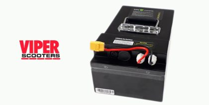 Electric Scooter Lithium Battery 60V 20Ah, Velocifero, Viper