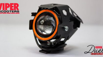 Electric Scooter Angel Eye Headlight Viper Duel