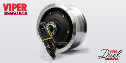 Electric Scooter 1600W Wheel Motor Assy Viper Duel