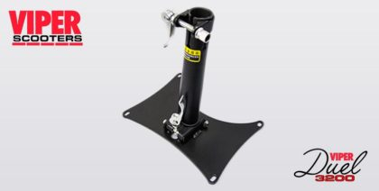 Electric Scooter Seat Base & Stem Viper Duel 3200, 5000