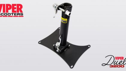 Electric Scooter Seat Base & Stem Viper Duel