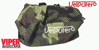 Electric Scooter Rear Bag (Army), Velocifero