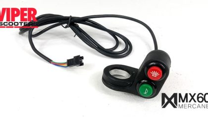 Electric Scooter Horn & Light Switch, Mercane MX60