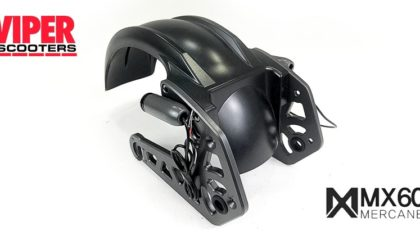 Electric Scooter Rear Swing Arm Assembly Mercane MX60