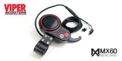 Electric Scooter Throttle & Speedometer Mercane MX60