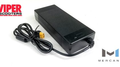 Electric Scooter Lithium Battery Charger 48V, Mercane Widewheel