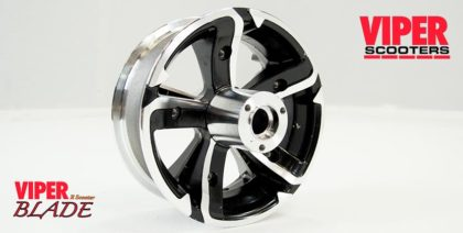 Electric Scooter Front Wheel 6.5 inch, Viper Blade