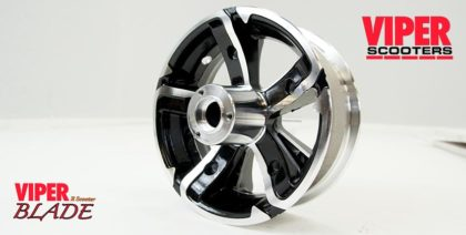 Electric Scooter Rear Wheel 6.5 inch, Viper Blade