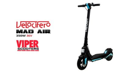 Velocifero Mad Air 350W 36V Lithium Electric Folding Scooter