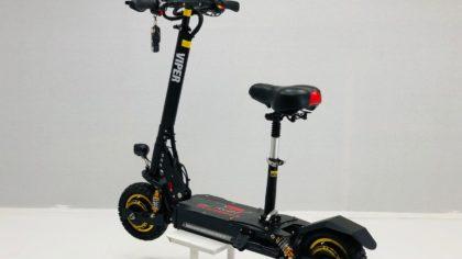 Refurbished Viper Duel 2000W 60V Lithium Electric Scooter 2019 Model – VSR-0011