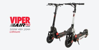 Viper Air Pro 500W 48V 20Ah, Electric Kick Scooter