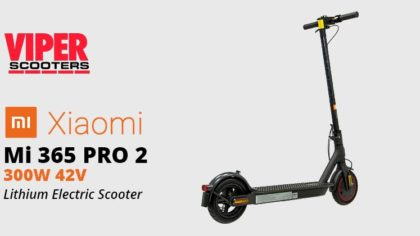 Electric Scooter Xiaomi Mi 365 Pro 2 300w 42v Lithium Kickscooter