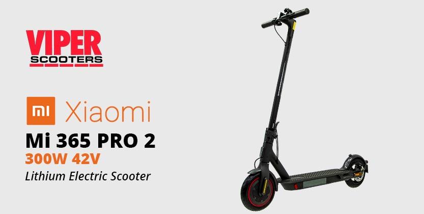 Electric Scooter Xiaomi Mi 365 Pro 2 300w 42v Lithium Kickscooter
