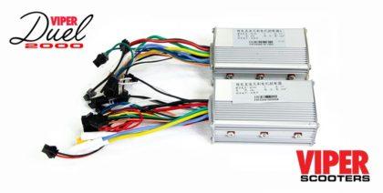 Electric Scooter 48V Control Unit A & B (Pair) Viper Duel 2000