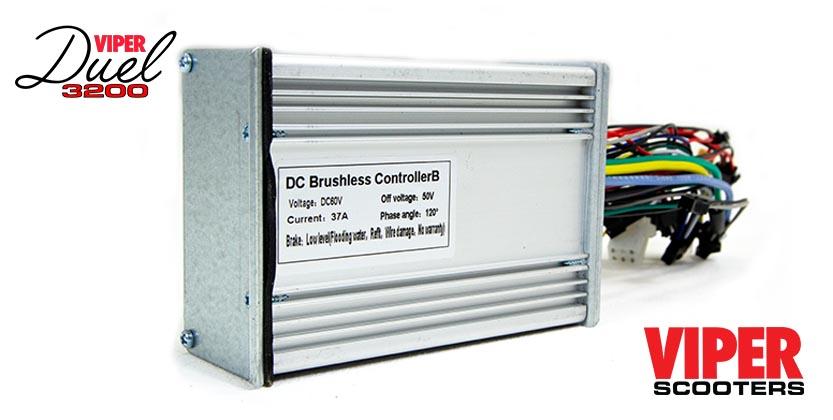 Electric Scooter 60V Control Unit (B) Viper Duel 3200 (2020 Model)