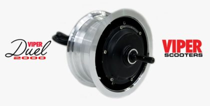Electric Scooter 2500W Wheel-Hub Motor Assy Viper Duel (5000)