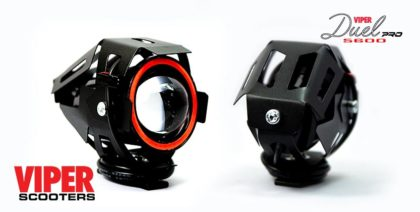 Electric Scooter Angel Eye Headlights (Pair) Viper Duel 5600W