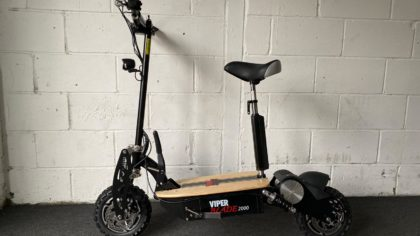 Ex-Demo Viper Blade 2000W 60V Electric Scooter – Black (VSE-0004)