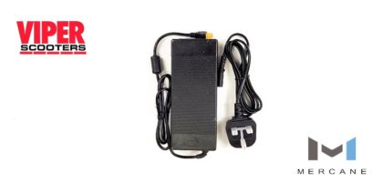 Electric Scooter Lithium Battery Charger 54.6V, 2.0A Mercane Widewheel Pro