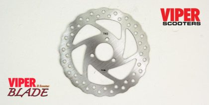 Electric scooter Brake Disc, Viper Blade (140mm)