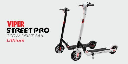 Viper Street Pro 300W 36V 7.8Ah, Electric Kick Scooter