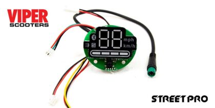 Electric Scooter Digital Display Motherboard, Viper Street Pro
