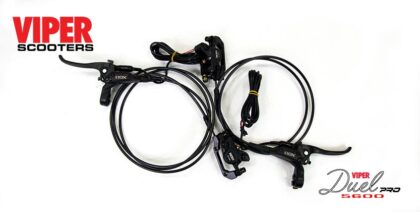 Electric Scooter Hydraulic Brakes Set Viper Duel Pro 5600W