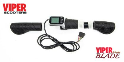 Electric scooter Throttle and Digital Display Kit, Viper Blade 1600W (48V) 2021 Model