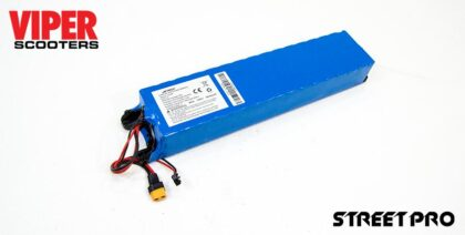 Electric Scooter Lithium Battery 36V 7.8Ah, Viper Street Pro