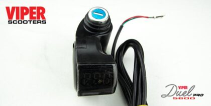 Electric Scooter Ignition Barrel & Keys Viper Duel 5600