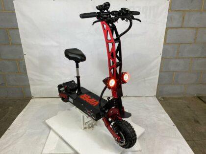Refurbished Duel Pro 5600W 60V 32AH LG Lithium Electric Scooter (VSR-0029)