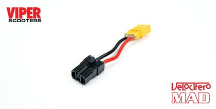 Electric Scooter Battery to Control Unit Connector Cable Adapter (Old to New), Velocifero
