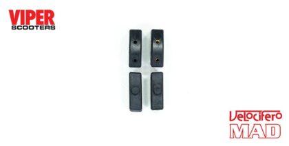 Electric Scooter Footboard Rubber Blocks, Velocifero Mad 1000W, 1600W & 2000W